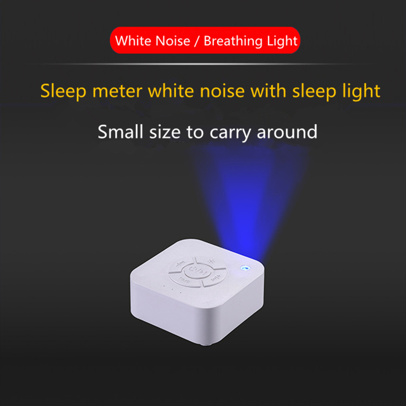 White Noise Machine 9 Natural And Soothing Sounds Machine Portable Sleep Sound Therapy Machine With Baby Soothing Night Light
