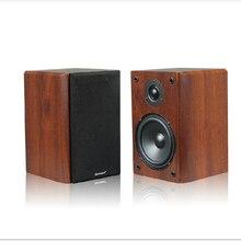 KYYSLB 15 35W 4 Euro 5 Pollici 3D Amplificatore Altoparlante Passivo di Legno Diffusore Da Scaffale Centro Surround 2.0 Passivo speaker Un Paio