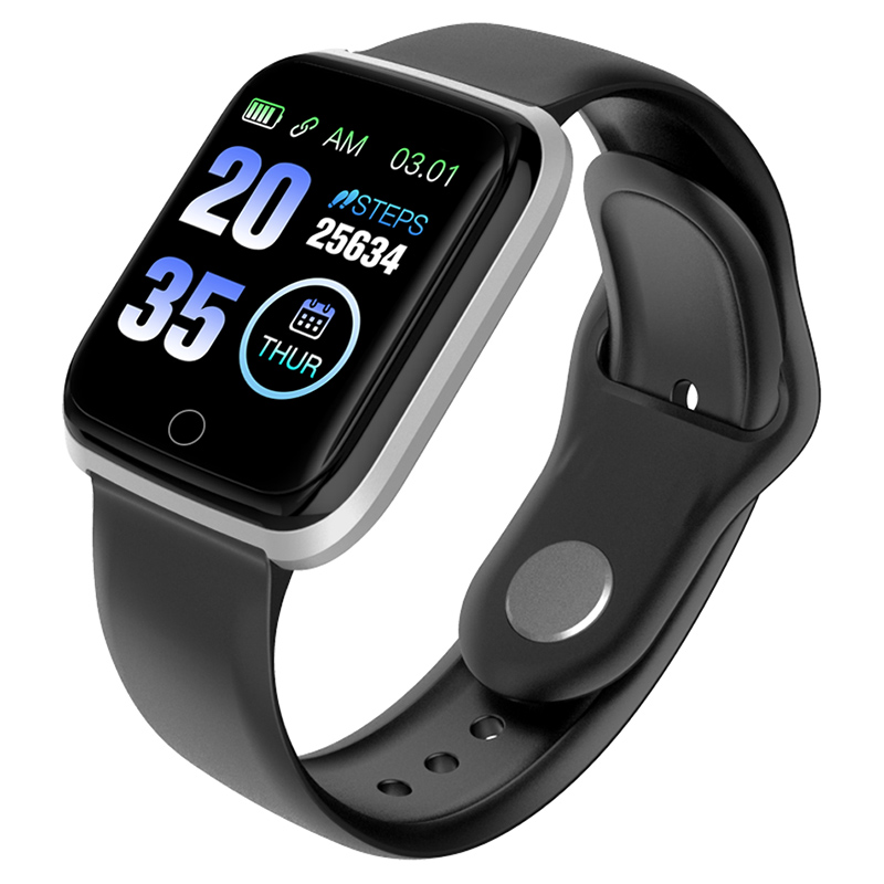 Reloj inteligente M6 para hombres, podómetro deportivo, rastreador de Fitness, ritmo cardíaco, reloj de presión arterial, reloj de salud para mujeres, reloj inteligente para IOS Android