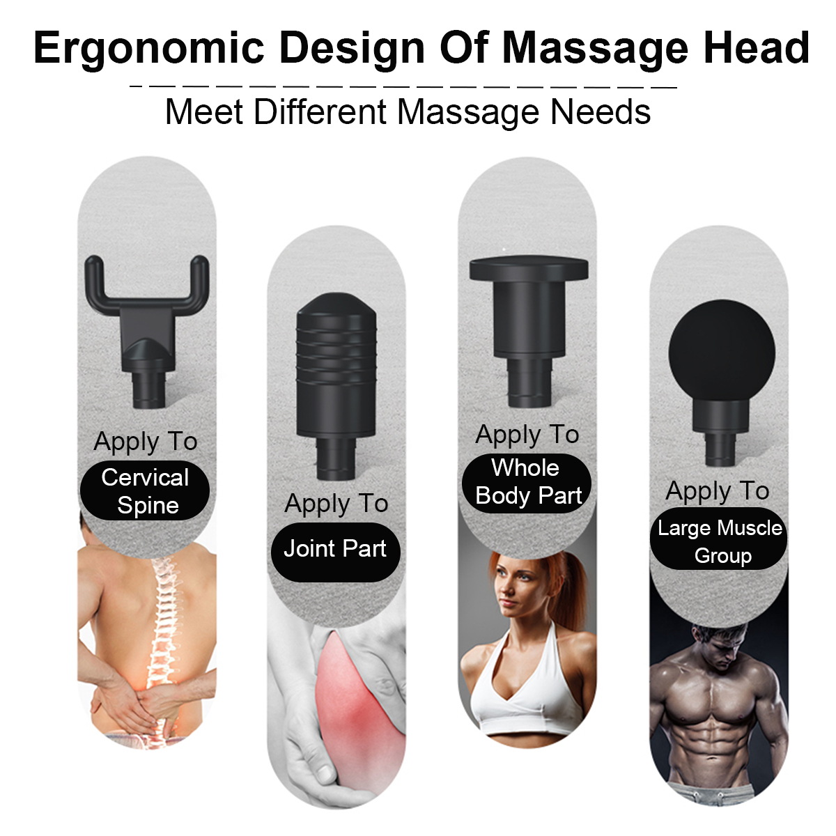 Free Shpping New 2400 mAh Percussion Therapy Electric Vibrating Muscle Massager Gun Professional Body Massager Relax Muscle Tool