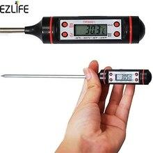 Цифровой бытовой термометр для выпечки пищи из нержавеющей стали, термометр для приготовления молока, барбекю, Кухонный Термометр, Пробники для еды, кухонный инструмент LQW3665