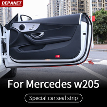 Noise and sound insulation For Mercedes w205 amg coupe / interior trim c63 mercedes c class accessories w205 Mercedes amg coupe