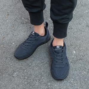 Image 2 - NIDENGBAO Men Casual Shoes Thick Comfortable Mesh Shoes Men Walking Footwear Lightweight Male Sneakers Plus Big Size 47 48 49 50