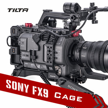 Tilta ES-T18-V FX9 Camera Cage Rig for SONY PXW-FX9 Camera V mount anton mount film camera cage support 15mm rod Baseplate
