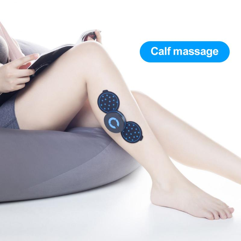 New Portable Mini Electric Neck Cervical Massager Stimulator Back Thigh Massager Pain Relief Massage Patch Intelligent Wireless