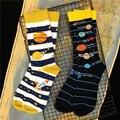 Mewперф Instagram те же хлопковые носки Экипаж планеты солнечная система Меркурий венерина земля Марс Юпитер Сатурн уран Нептун уличная мода Sox