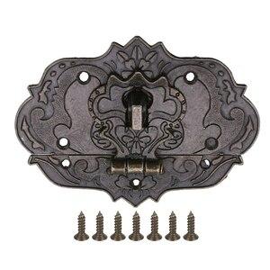 1pc Retro Bronze Jewelry Box C
