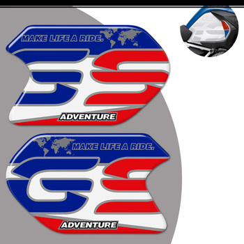 R 1200 GS R1200 GSA For BMW R1200GS Stickers Protector Tank Pad Fender Windshield handguard Adventure Trunk Aluminium Cases 2017 image