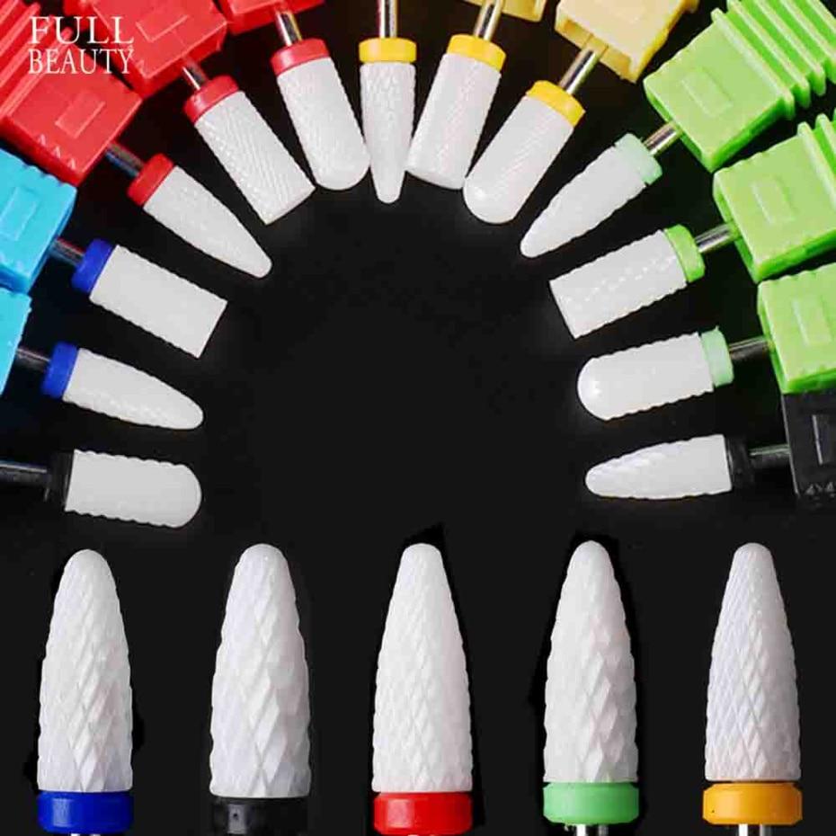 Milling Cutter For Manicure Ceramic Nail Drill Bit 3/32