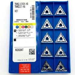 TNMG160402 TNMG160404 TNMG160408-HA H01 cermet aluminum insert insert external turning tools TNMG 160404 alloy cutting tool