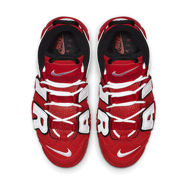 Nike Air More Uptempo Air Air Cushion Serpentine Children Basketball Shoes Boys Cq4581-100 2