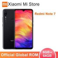"""Global ROM Xiaomi Redmi Nota 7 64 6GB de RAM GB ROM Telemóvel Snapdragon 660 Núcleo octa 6.3 """"19.5: 9 48MP Tela cheia Câmera Traseira"""