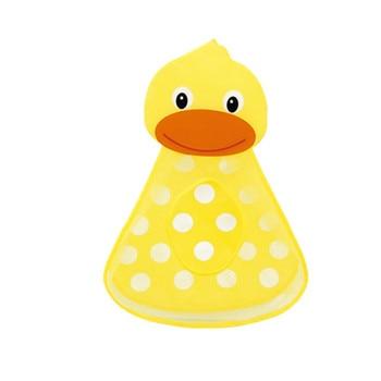 Baby Bathtub Toy Mesh Duck Storage Bag Organizer Holder Bathroom Organiser Beach Bath Toys For