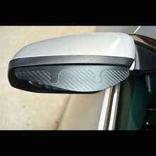 2pcs Car Side Rear View Mirror Rain Eyebrow Visor Look Sun Shade Snow Guard Weather Shield Cover Windows visor Auto Accessories(China)
