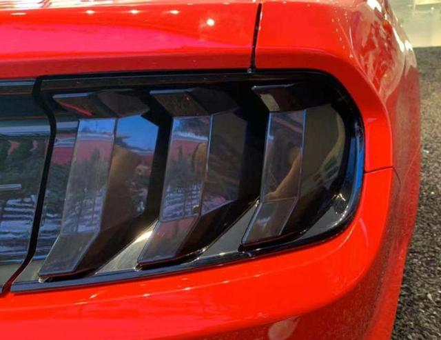 for Ford Mustang 2018 2019 2020 Taillight Cover Guard Tail Light Lamp Decoration Sticker Trim ABS Black Car Exterior Accessories 5