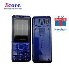 Кнопочный мобильный телефон, 1,77 дюймов, 2000 мА/ч, две sim-камеры, Bluetooth, большой динамик-фонарик, fm-радио, сотовый телефон для пожилых людей, Maxfone V3