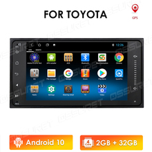 Android10 2Din Universal Car Multimedia Player Radio Stereo for Toyota VIOS CROWN CAMRY HIACE PREVIA COROLLA RAV4 Mirror Link BT