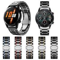 Keramische Band Voor Huawei Horloge Gt 2 / GT2 46Mm 42Mm Band Armband Voor Honor Magic Horloge 2 magicwatch Horlogeband Luxe Bandjes