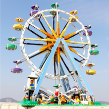 15012 Creator Series Ferris Wheel Model Building Blocks 2464pcs Bricks Kits Toy Gift For Children Creator 10247 2518pcs creator expert street ferris wheel construction 30000 model modular building gifts sets blocks hot compatible with lego