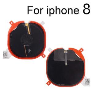 Image 3 - 1 szt. Bezprzewodowy układ ładowania cewki NFC dla iPhone 8G 8 Plus X Panel ładowarki naklejki Flex Cable