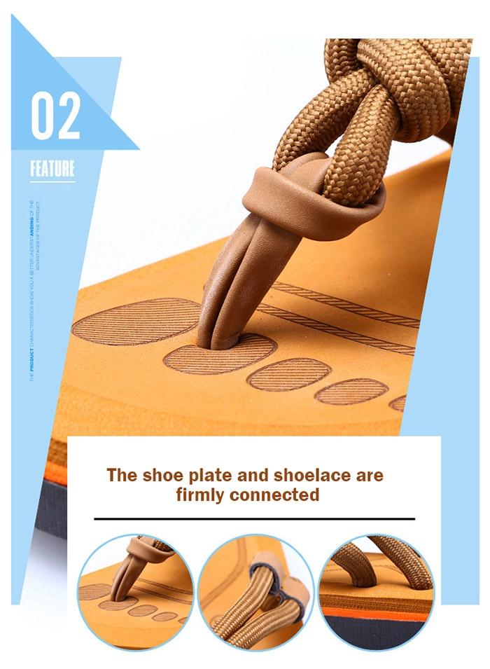 Sandálias de Praia de Alta Qualidade Zapatos