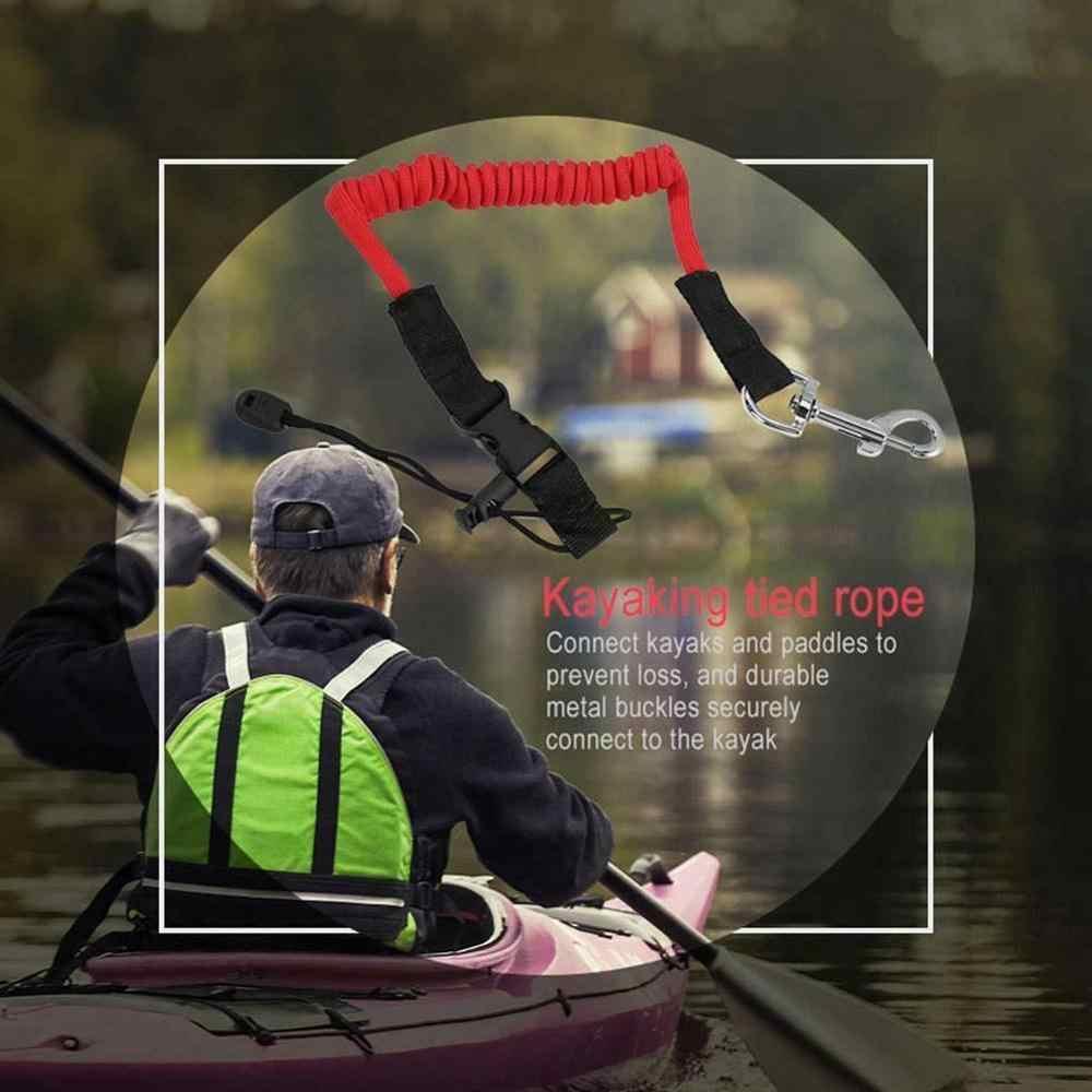 Barca a remi Elastico Paddle Guinzaglio Accessori Kayak Kayak Canoa di Sicurezza Canna Da Pesca Tavola Da Surf Surf A Spirale della Cordicella del Cavo di Corda Cravatta