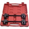 1 пара пружина компрессора сверхмощный 300 мм Двойные Крючки Зажимы для ремонта автомобиля фургон для MacPherson стойки амортизатор инструмент дл...