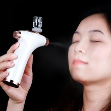 Mini Hand Held Oxygen Meter Nano Sprayer Hydrating Facial Moisturizing Rejuvenation Skin Care Beauty Spray Machine USB Charge