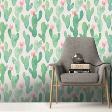 1PHome Decoration Wall Sticker Custom Fashion Wallpaper Floral Geometric Modern Minimalist Abstract Background