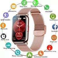 Smart Band 6 Watch Fitness Tracker bracciale Smartwatch impermeabile cardiofrequenzimetro ossigeno nel sangue schermo OLED per Huawei Xiaomi