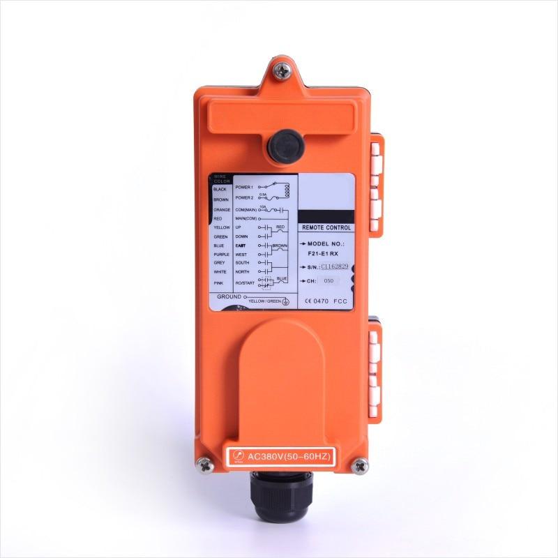 Image 5 - Industrial Wireless f21 e1b Single Speed 8 Buttons F21 E1B Hoist Remote Control (1 Transmitter+1 Receiver) for Crane f21 e1bRemote Controls   - AliExpress
