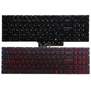 Novo teclado do portátil dos eua para msi ge72 6qc 6qd 6qe 6qf 6ql teclado dos eua