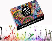 180 crayons de couleur aquarelle, Crayon de couleur artiste pour écoliers