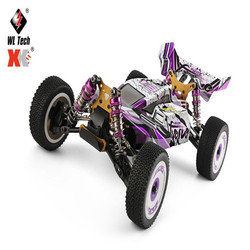 Wltoys 124019 124018 RC Car RTR 1/12 2.4G 4WD 60km/h High Speed Metal 550 Brushed Motor Off-Road Climbing Truck Vehicles Model