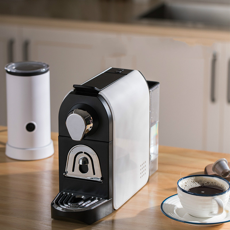 Capsule Coffee Machine Ground Espresso Coffee Maker Hot and Cold Extraction Coffee Powder Making Home Office Helper nespresso 2