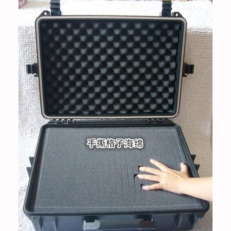 500x350x200MM ABS įrankių dėklo įrankių dėžė. Smūgiams - Įrankių laikymas - Nuotrauka 4