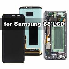 Оригинальный amoled ЖК дисплей для samsung galaxy s8 g950f с