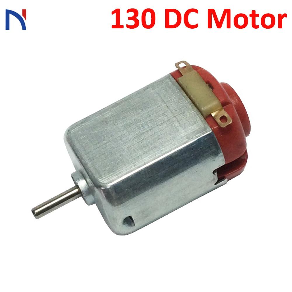 130 DC Motor 3V-6V Miniature Motor Four-wheel Motor For Model Ship Toys Car DIY Appliance Mini Small Motor