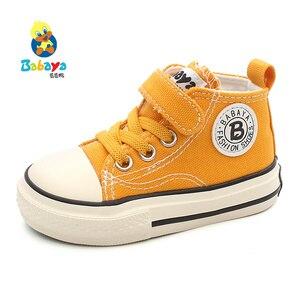 Image 2 - ילדים של נעלי בד תינוק נעלי בני 1 3 שנים פעוטות נעלי בנות בד נעלי 2019 סתיו חדש