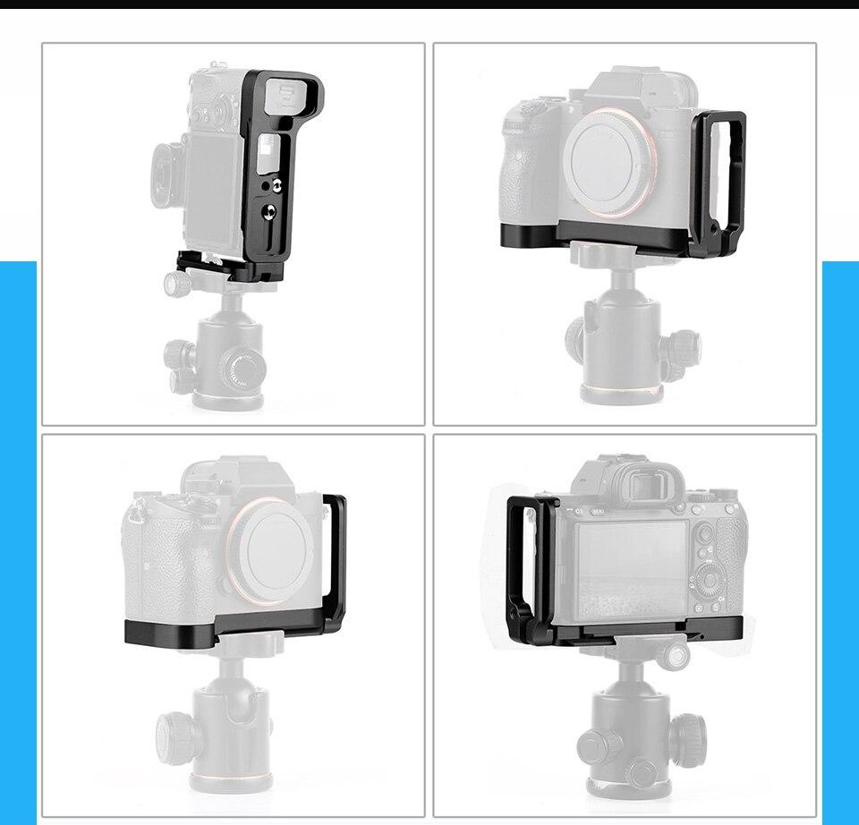 placa lateral aperto de mão câmera titular