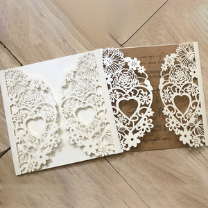 Image 2 - cutting dies cut die NEW2020  mold Lace wedding Heart lace Scrapbook paper craft knife mould blade punch stencils dies
