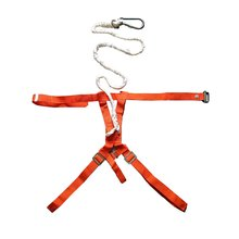 Fire Safety Half-Full Body Harness Fire Fighting Safety Strap Belt Climbing Self-Rescue Life-Saving Height Air Safty Belt