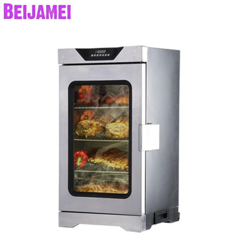 BEIJAMEI Electric Fish Smoker Machine/meat Sausage Smoking Machine Electric Food Smokehouse Oven For Sale