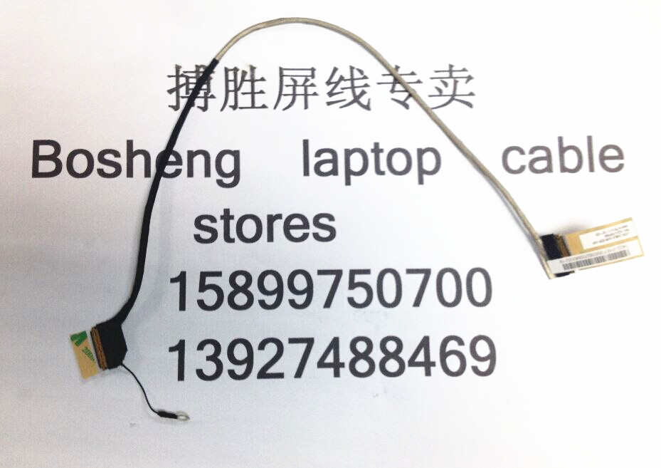 New LCD Cable For Toshiba Satellite P50 P55 1422-01EF000 30 Pins LVDS Screen Display Flex