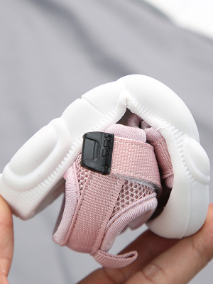 Image 4 - Детские сандалии 2020 летняя новая детская обувь для малышей сетчатая Нескользящая пляжная обувь для мальчиков и девочекСандалии   -