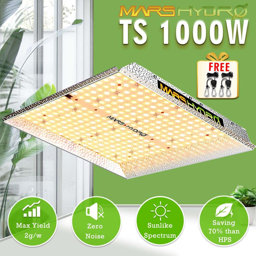 Mars Hydro TS 1000W LED Grow Light Combo Full Spectrum For Hydroponics&Medical Plants No Stock In Russia
