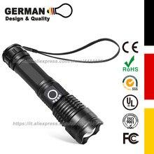 Rechargeable LED Flashlight, Pocket-Sized…