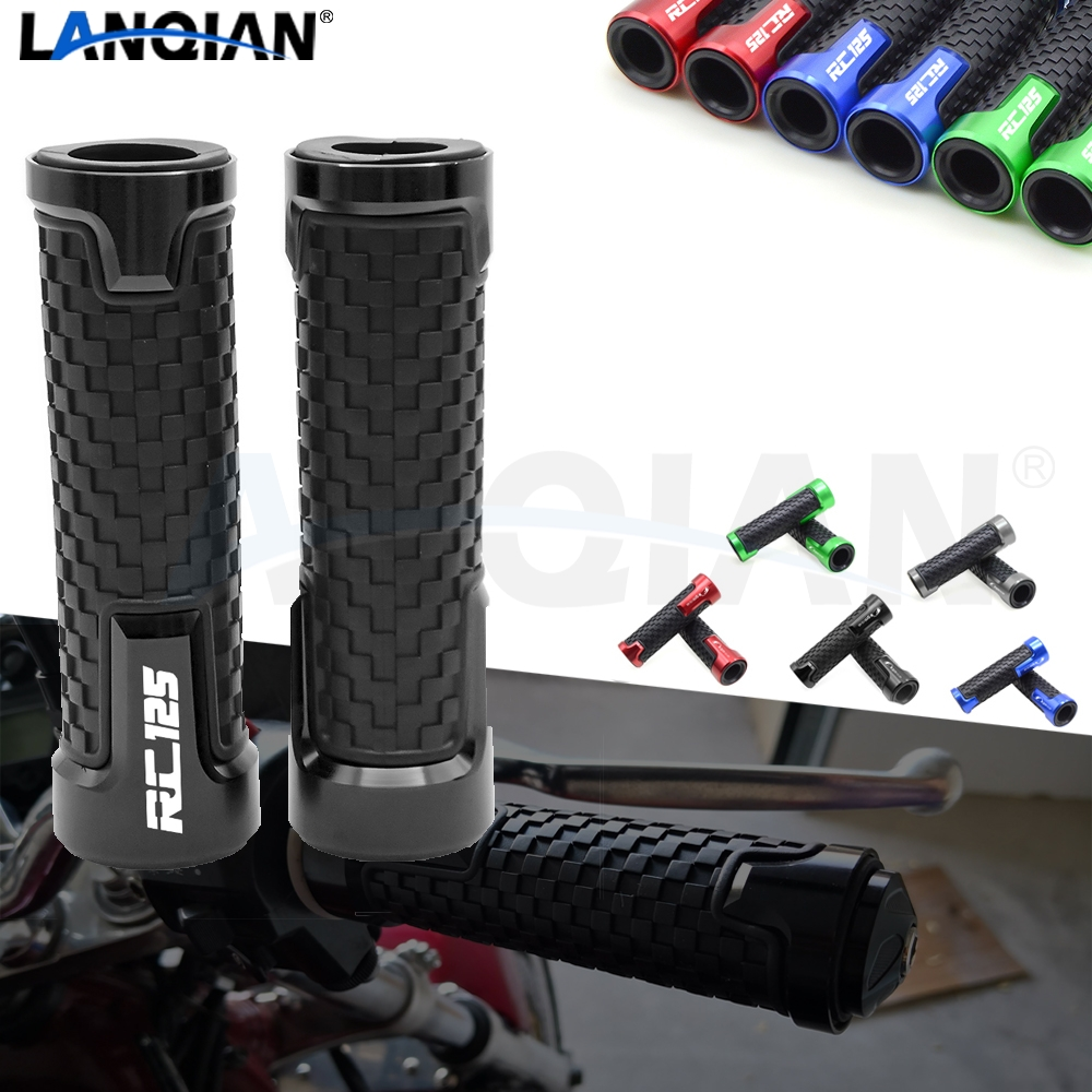 For KTM RC125 Duke 125 7/8''22MM Motorcycle Handlebar Grips Hand Bar Grips 125 Duke RC 125 2011 2012 2013 2014 2015 2016 Parts image