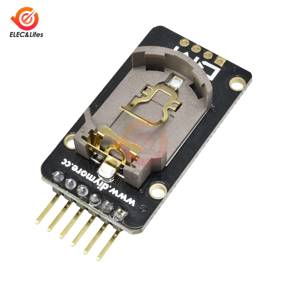DS3231SN DS3231 AT24C3 I2C IIC Clock модуль прецизионной памяти DS3231 Модуль реального времени 3,3-5,5 В для Arduino Raspberry Pi - Цвет: DS3231SN