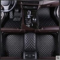 Car Custom Foot Mats 3D Luxury Leather Car Floor Mats For Chevrolet Malibu 2012 2013 2014 2015 2016 2017 2018 2019